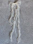 Organza hair trail - 20""